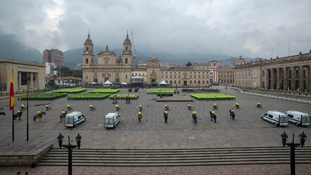 La Plaza de Bolívar permanecerá cerrada una semana por mantenimiento