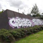 """Escultura """"Longos"""" volvió a ser vandalizada luego de su revitalización"""