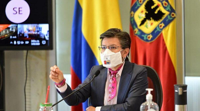"""""""Nos duele cada persona que hemos perdido este año"""": alcaldesa Claudia López"""