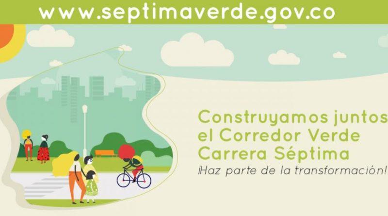 Corredor Verde de la Séptima: participa en las actividades de esta semana