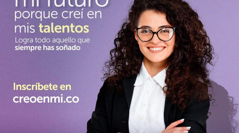 Convocatoria CREO EN MÍ, emprendimiento y negocios para mujeres