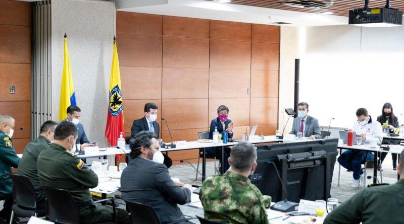 Alcaldía de Bogotá y Gobierno Nacional acuerdan acciones para garantizar la seguridad en la capital