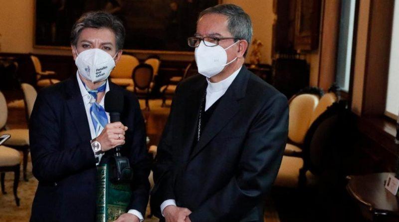 Alcaldesa Claudia López y Arzobispo de Bogotá definen medidas para la celebración de Semana Santa