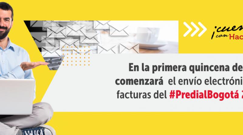 En la primera quincena de abril comenzará envío electrónico de facturas del impuesto Predial