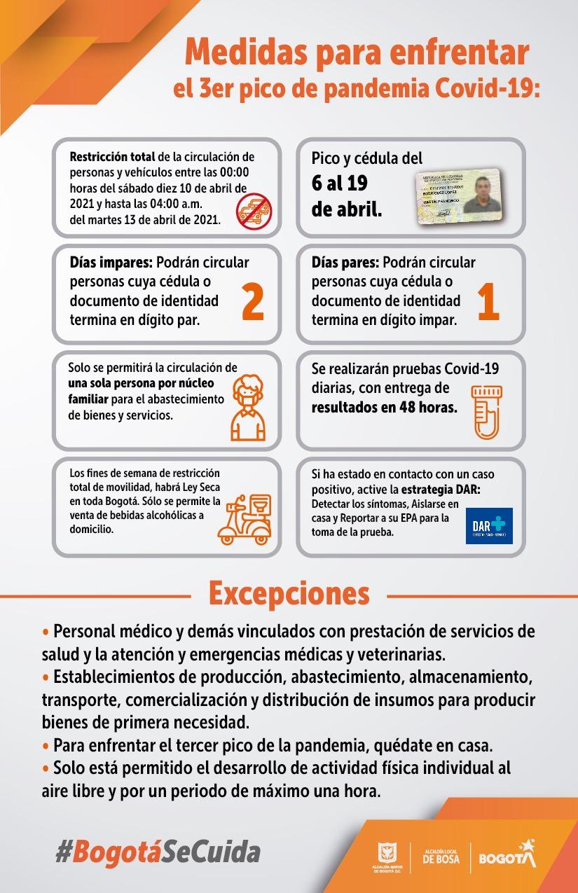 La Alcaldesa Mayor de Bogotá Claudia López respondió inquietudes por Facebook Live sobre medidas del Distrito para enfrentar la pandemia.