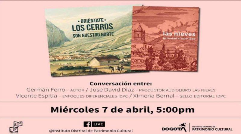 Audiolibros del Instituto Distrital de Patrimonio Cultural ¡Conócelos!