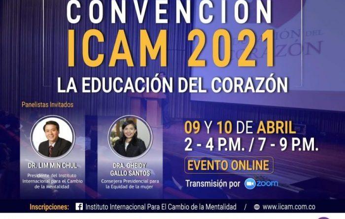 CONVENCIÓN ICAM 2021. Todas las heridas pueden ser sanadas