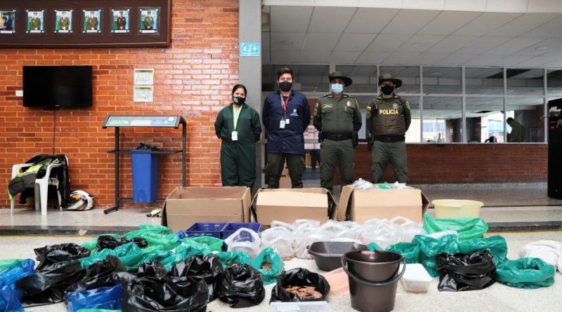 Autoridades recuperan en el aeropuerto El Dorado más de 1900 tortugas que eran movilizadas de manera ilegal