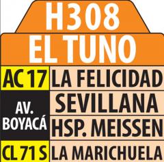 Servicios zonales desde Puente Grande hasta El Tuno