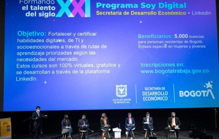 35 mil cupos de formación gratuita en las habilidades que  requiere el Siglo XXI en Bogotá